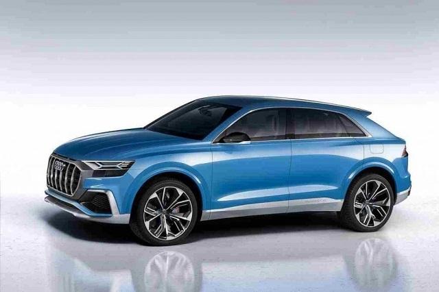 2019 Audi Q9 side view