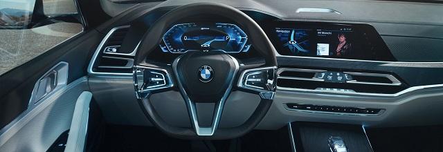 2019 BMW X8 interior