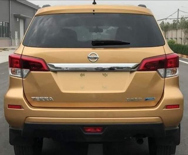 2019 Nissan Xterra rear view