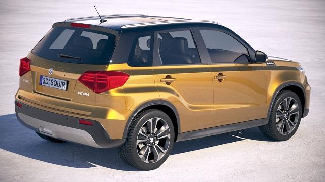2019 Suzuki Vitara rear view
