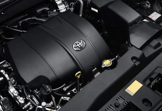 2019 Toyota Highlander engine