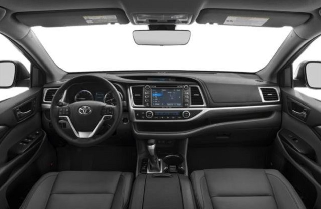 2019 Toyota Highlander interior