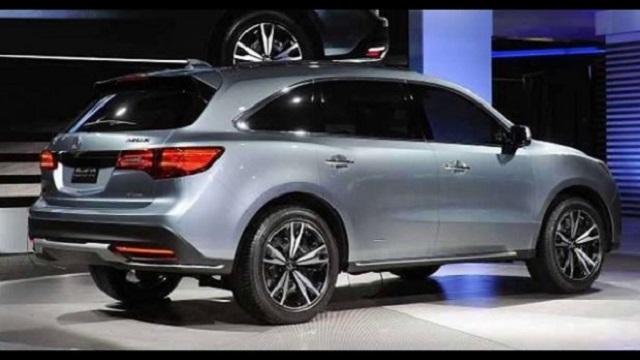 2020 Acura MDX rear view