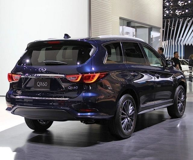 2020 Infiniti QX60 rear view