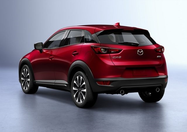 2020 Mazda CX-3 rear view