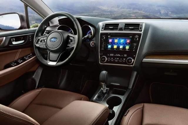 2020 Subaru Outback Hybrid interior