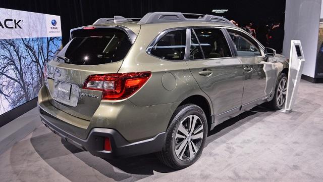 2020 Subaru Outback Hybrid rear view