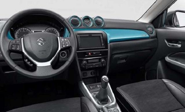 2019 Suzuki Grand Vitara interior