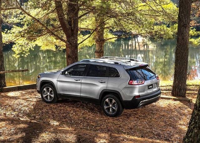 2020 Jeep Grand Wagoneer rear view