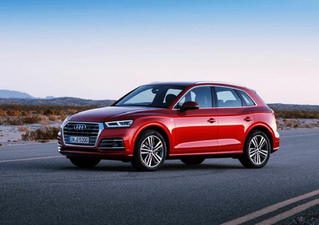 2020 Audi Q5 side view
