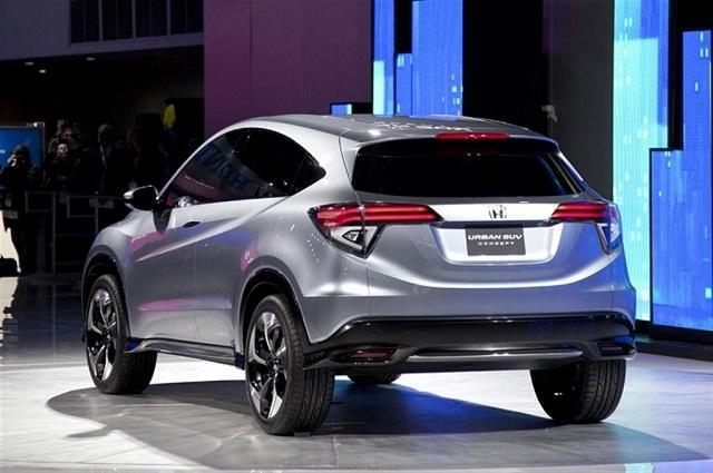 2020 Honda HR-V rear view