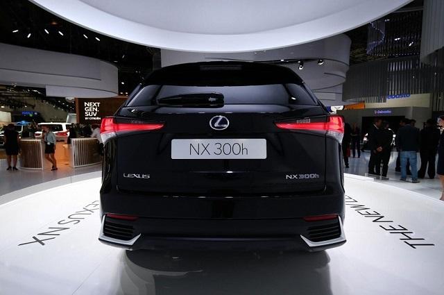 2020 Lexus NX 300 rear view