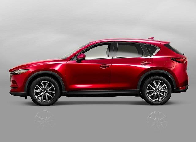 2020 Mazda CX-5 side view