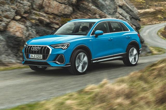 2020 Audi Q3 front view