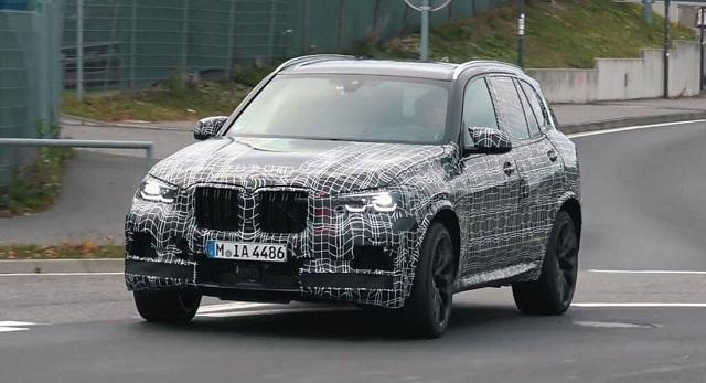 2020 BMW X5 spy shots