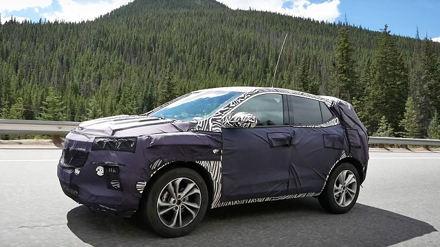 2020 Buick Encore spy shots