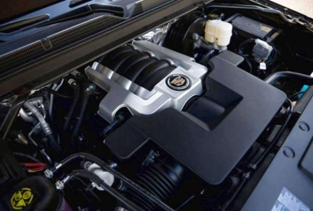 2020 Cadillac XT7 engine