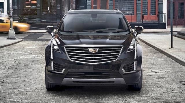 2020 Cadillac XT9 front view