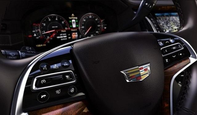 2020 Cadillac XT9 interior