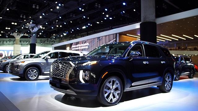 2020 Hyundai Palisade front view