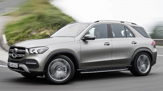 2020 Mercedes-Benz GLE side view