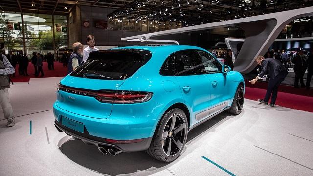 2020 Porsche Macan rear view