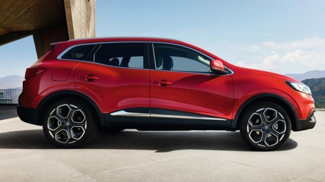 2020 Renault Kadjar side view