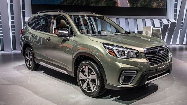 2020 Subaru Forester front view