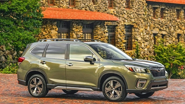 2020 Subaru Forester side view
