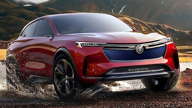 2020 Buick Enspire front view