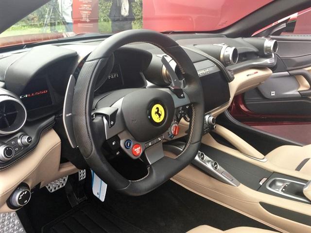 2020 Ferrari SUV interior
