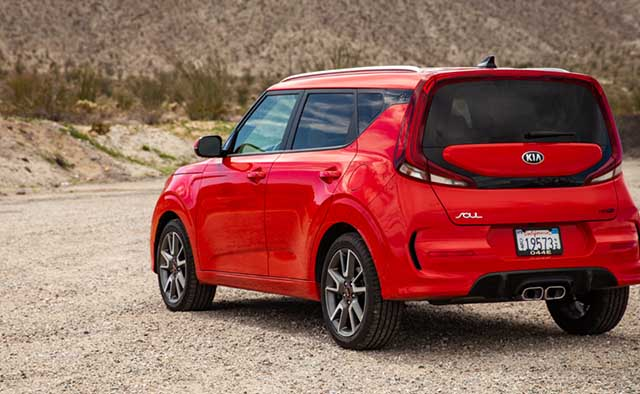 2020 Kia soul changes