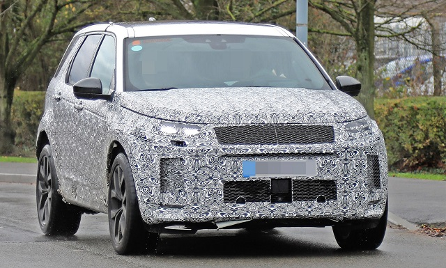 2020 Land Rover Discovery spied