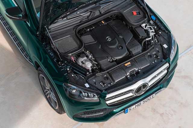 2020 Mercedes - Benz GLS new engine