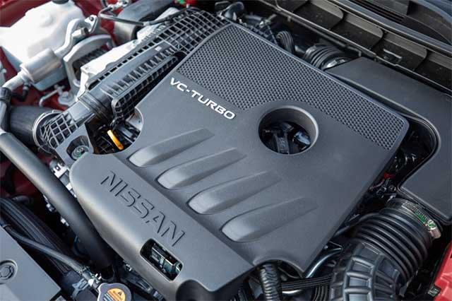 2020 Nissan Rogue Sport engine