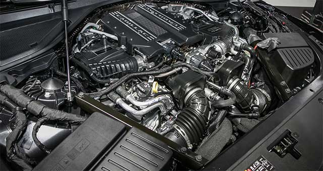 2020 Cadillac Escalade blackwing engine