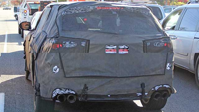 2020 Acura MDX Type S spied