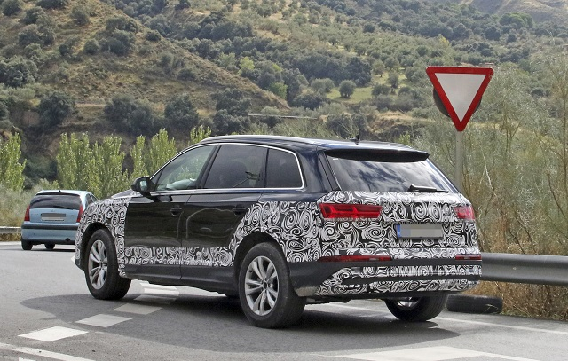 2021 Audi Q7 Spy shots, Release date, Specs, Price - 2020 ...