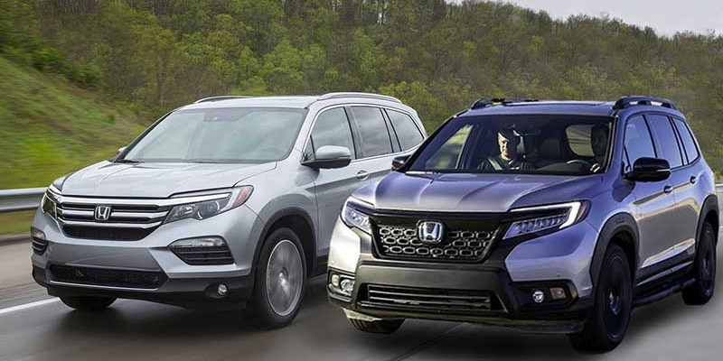 2020 Honda Passport vs pilot