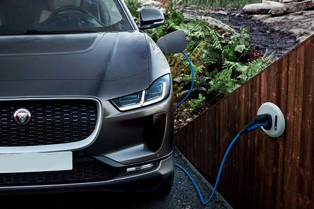 2020 Jaguar I-Pace range