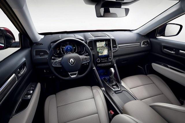2020 Renault Koleos interior