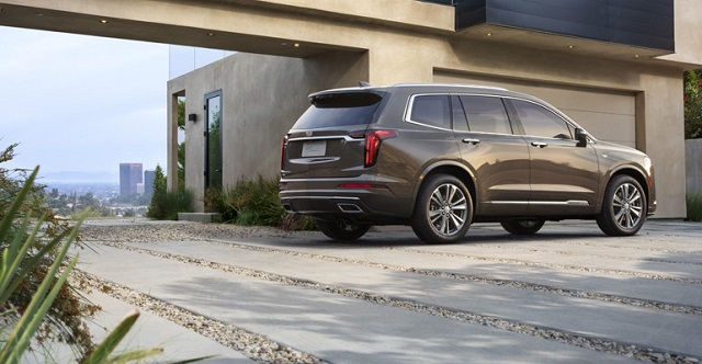2020 Cadillac Escalade Platinum rear
