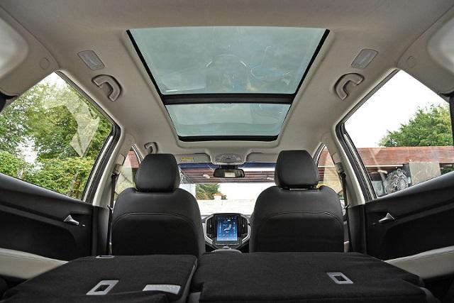 2020 Chevy Captiva interior