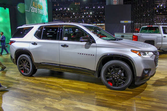 2020 Chevy Traverse Redline