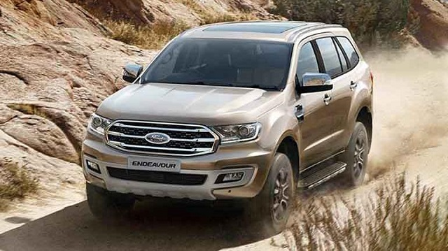 2020 Ford Endeavour india