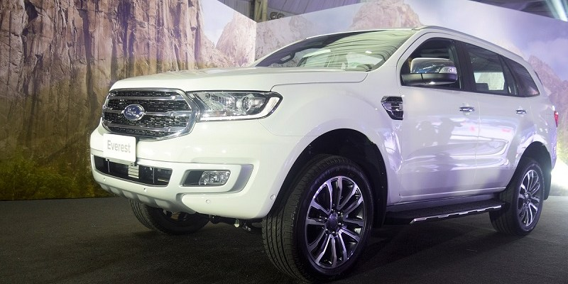 2020 Ford Everest changes