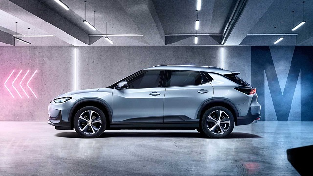 2021 Chevy Trailblazer ev