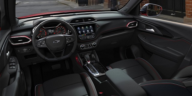 2021 Chevy Trailblazer interior