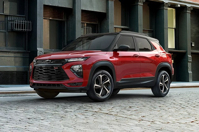 2021 Chevy Trailblazer price