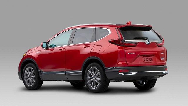 2021 Honda CR-V Hybrid MPG